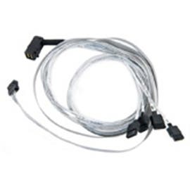 Adaptec Cable 2280000-R 0.8m RA miniSAS SCSI SFF-8643 to 4 x1Serial Fan -Out Bare