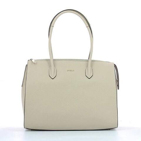 Furla Pin Large Vaniglia Tote Handbag