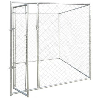 Link to vidaXL Outdoor Dog Kennel 6'x6' Similar Items in Dog Containment