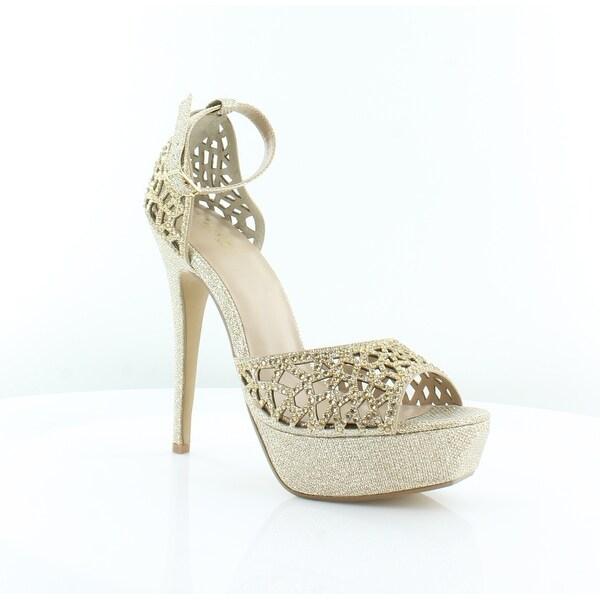 Thalia Sodi Felisa Women's Heels Gold - 9.5