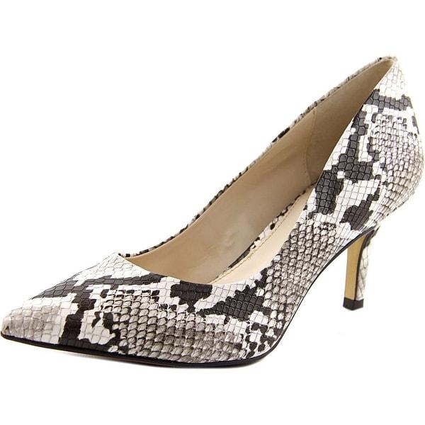 Alfani Jeules Women Pointed Toe Synthetic Tan Heels