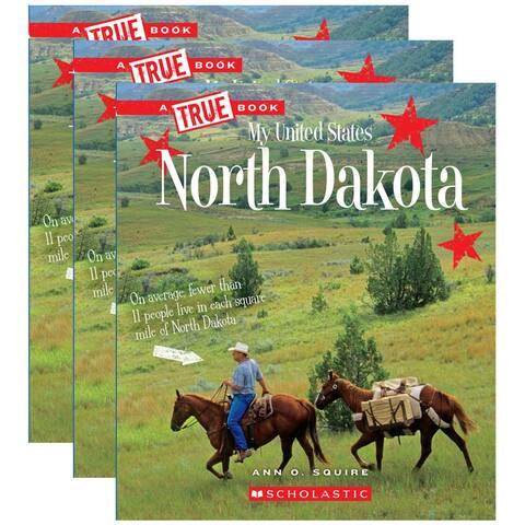 (3 Ea) My Usa Book North Dakota