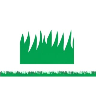 Green Grass Mighty Brights Border