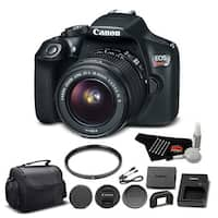 Canon EOS Rebel T6 SLR with EF-S 18-55mm Bundle