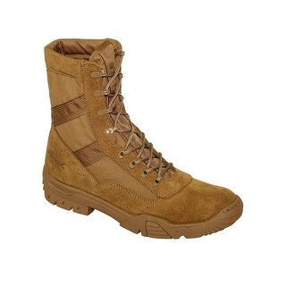Thorogood Work Boots Mens Saw Military Leather Lace Up Tan 913-7000