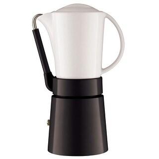 Aerolatte 006 Caffe Porcellana Espresso Maker, Black