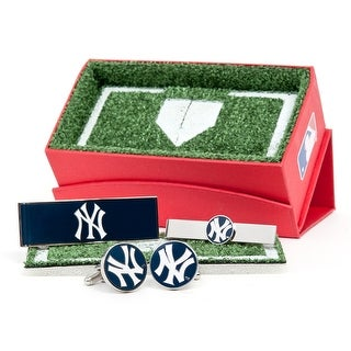 New York Yankees 3-Piece Gift Set - navy