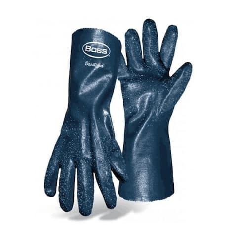 "Boss 7014 Ruff Grip Gauntlet Cuff Glove, Large, 14"""