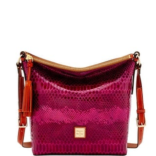 Dooney & Bourke Snake Small Dixon (Introduced by Dooney & Bourke at $268 in Nov 2016) - Fuchsia
