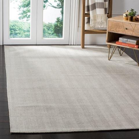 Safavieh Handmade Flatweave Marbella Nazmie Modern Wool Rug