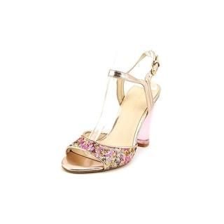 Nine West Phishin Open Toe Canvas Sandals