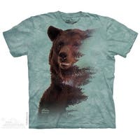 BROWN BEAR FOREST Adult T-Shirt