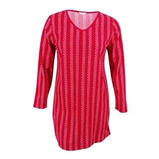 Nautica Women's Striped Nightgown - XL