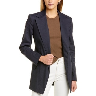 Link to Theory Belted Linen-Blend Blazer Similar Items in Pants