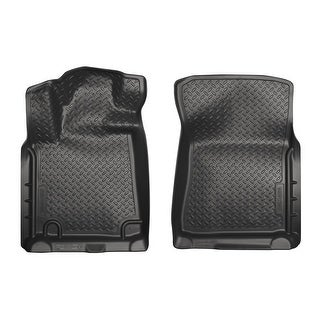 Husky Classic 2010-2014 Toyota Tundra CrewMax Cab Black Front Floor Mats/Liners