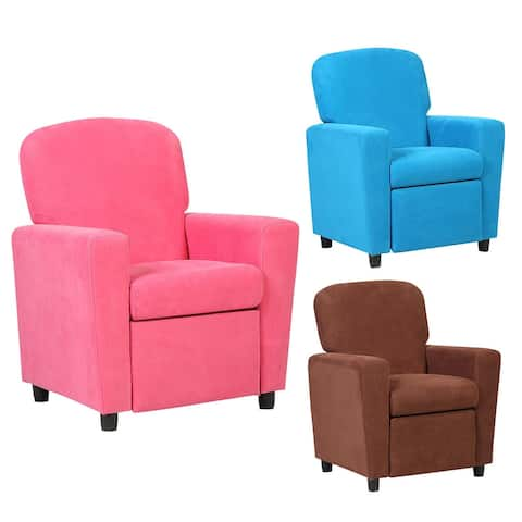 Costway Kids Recliner Sofa Armrest Chair Couch Lounge Children Living