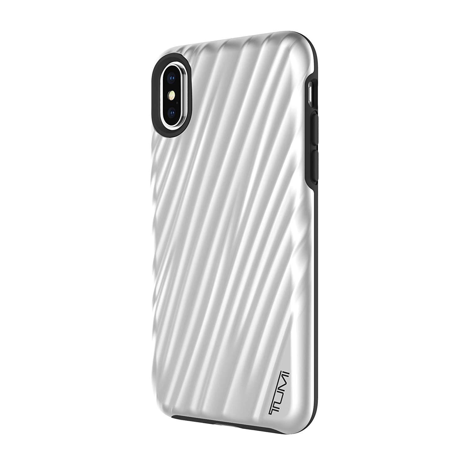 huge discount 9b451 97fe2 TUMI 19 Degree Case for iPhone Xs/iPhone X - Metallic Silver