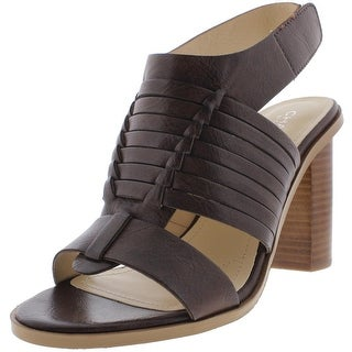 Charles by Charles David Womens Jeeze Leather Slingback Dress Sandals
