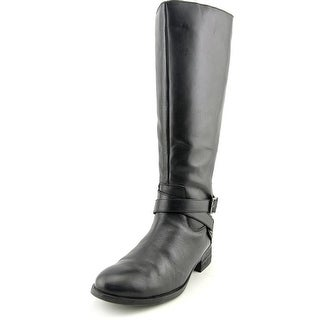 Matisse Destry Women Round Toe Leather Black Knee High Boot