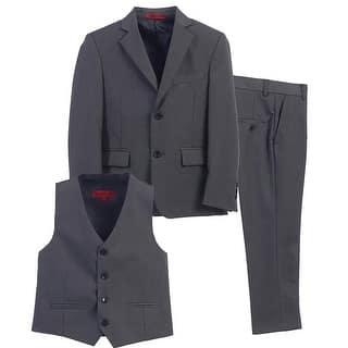 Boys Charcoal Vest Pants Jacket Special Occasion 3 Pcs Suit 8-16|https://ak1.ostkcdn.com/images/products/is/images/direct/11aa00f6673583ee0612c084d3ca3025dc3f79ec/Big-Boys-Charcoal-Vest-Pants-Jacket-Special-Occasion-3-Pcs-Suit-8-16.jpg?impolicy=medium