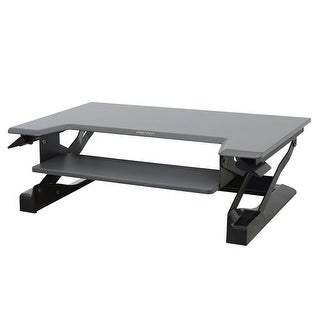 Ergotron 33-397-085 Workfit-T Sit-Stand Desktop Workstation (Black)
