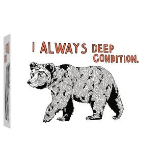 "PTM Images 9-102100  PTM Canvas Collection 8"" x 10"" - ""Bear"" Giclee Bears Art Print on Canvas"