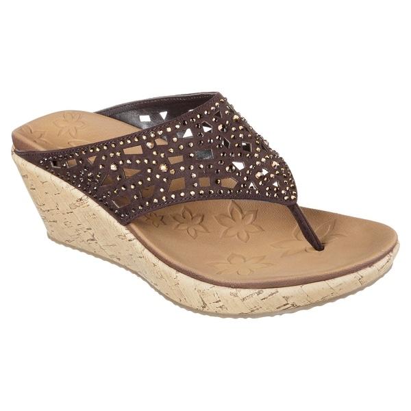 Skechers 38537 CHOC Women's BEVERLEE-DAZZLED Sandals