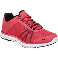 Ryka Women's Dynamic 2.5 Training Shoe Red/Black/White Mesh