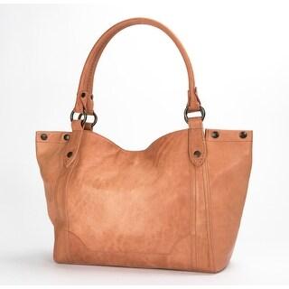 Frye Womens Melissa Shoulder Bag, Dusty Rose, Os