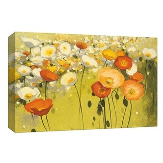 """PTM Images 9-153562  PTM Canvas Collection 8"""" x 10"""" - """"Spring Confetti"""" Giclee Flowers Art Print on Canvas"""