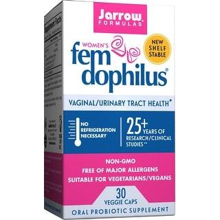 Jarrow Formulas Fem-Dophilus Shelf Stable 30 Veggie Capsules