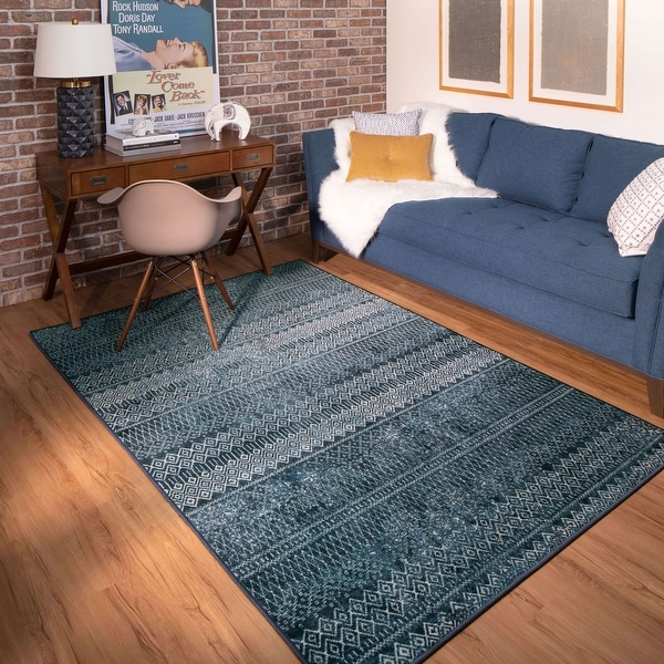 Mohawk Home Prale Transitional Boho Geometric Area Rug. Opens flyout.