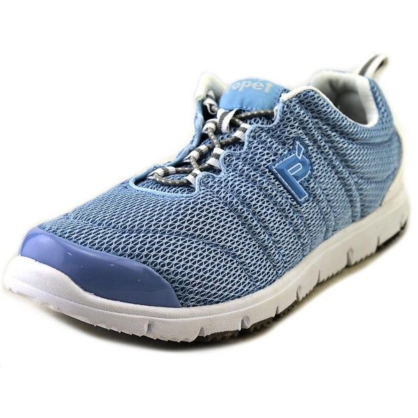 Propet Travel Walker II Elite Women 2E Round Toe Synthetic Blue Walking Shoe