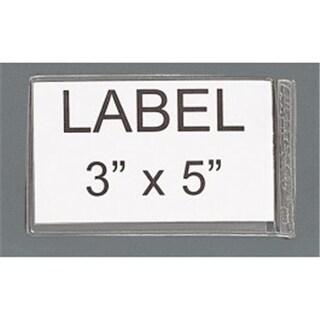 Quantum Storage AL-35 3 x 5 in. Adhesive Clear Label Holders
