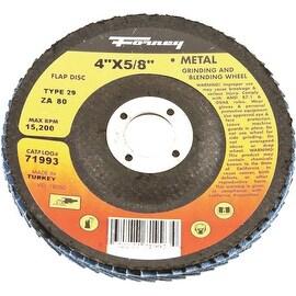 Forney 80G Blue Zir Flap Disc