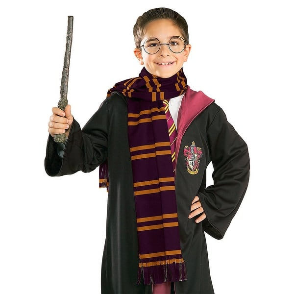 shop harry potter scarf child costume accessory overstock 13792608 overstock com