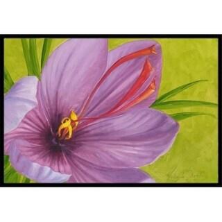 Carolines Treasures TMTR0227MAT Floral by Malenda Trick Indoor or Outdoor Mat 18 x 27