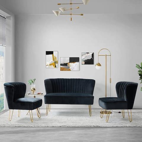 """Barto 45"""" 3 Piece Living Room Set"""