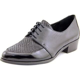 Tahari Latrice Women Round Toe Leather Oxford