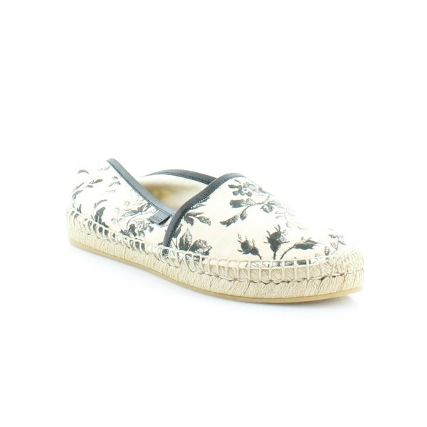 Shop Gucci Pilar Women s FLATS White Floral - 7.5 - Free Shipping ... 9c428f6aea