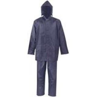 Diamondback SPU045-L 2-Piece Polyester Rainsuit Large, Blue