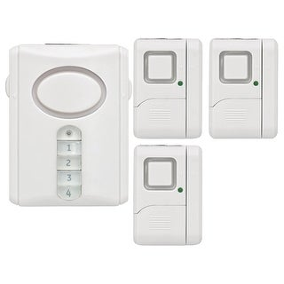 Ge Wireless Alarm System Kit