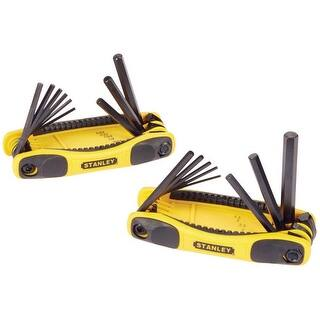 Stanley STHT71839 Metric and SAE Folding Locking Hex Key Set, Steel|https://ak1.ostkcdn.com/images/products/is/images/direct/11b32a705883cb131ddf9ff537dbaf2d3be208df/Stanley-STHT71839-Metric-and-SAE-Folding-Locking-Hex-Key-Set%2C-Steel.jpg?impolicy=medium