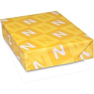 "Neenah 110Lb Classic Crest Cardstock 8.5""X11"" 125/Pkg-Solar White"