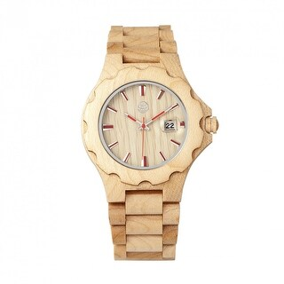 Earth Wood Gila Unisex Quartz Watch, Wood Band