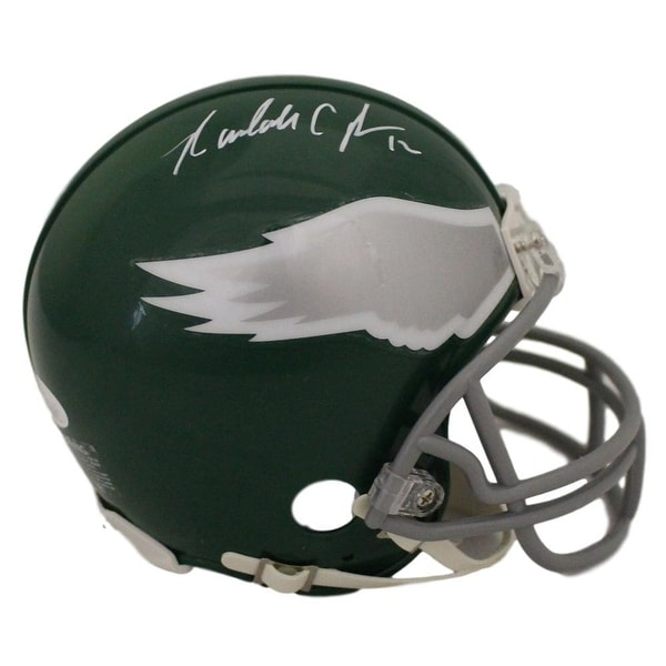 brand new 42dd2 e041c Randall Cunningham Autographed Philadelphia Eagles Mini Helmet in White JSA