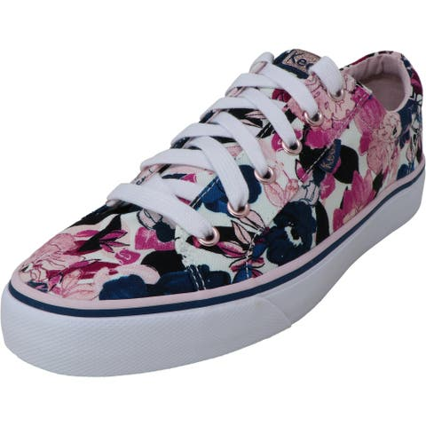 Keds Women's Jump Kick Floral Ankle-High Fabric Sneaker