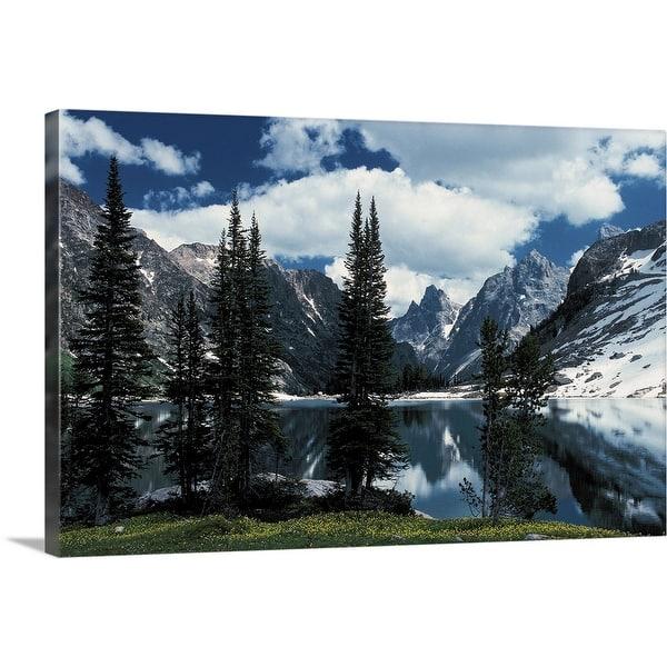 Shop Grand Teton National Park Wyoming Canvas Wall Art Overstock 16477540