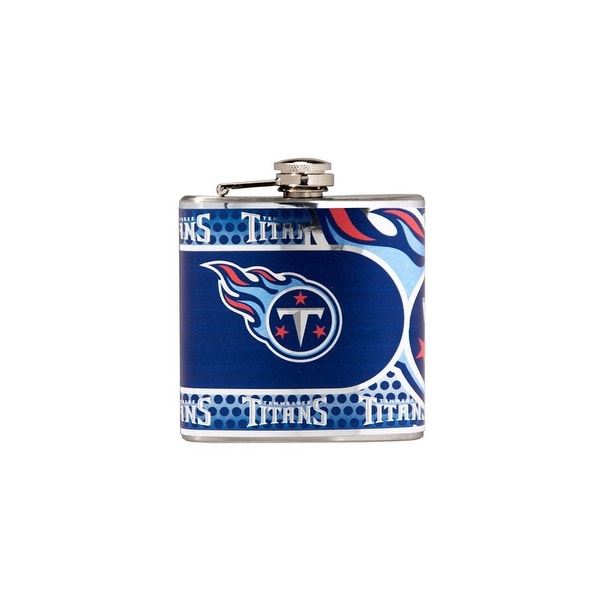 Great American Products Tennessee Titans Flask Stainless Steel 6 oz. Flask