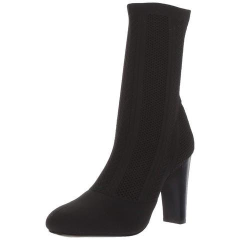 Charles by Charles David Womens shirley Cap Toe Mid-Calf Fashion Boots